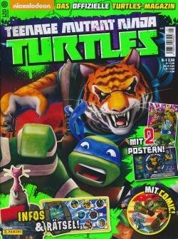 Teenage Mutant Ninja Turtles Magazin 21