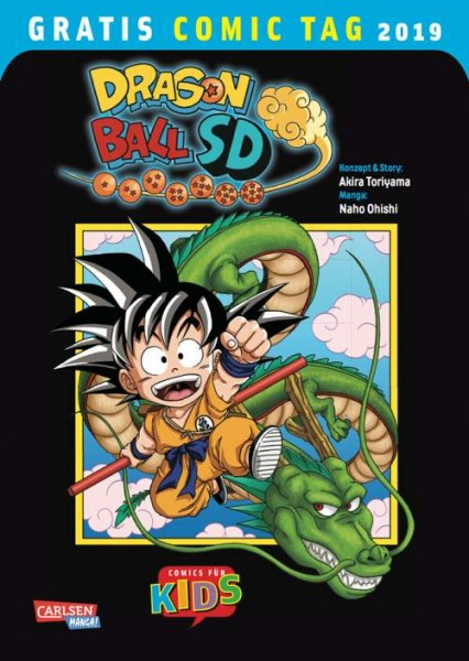 Gratis Comic Tag 2019: Dragon Ball SD