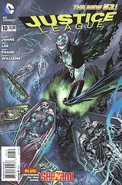 US: Justice League (2011) 10
