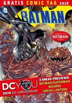 Gratis Comic Tag 2016: DC Comics Special