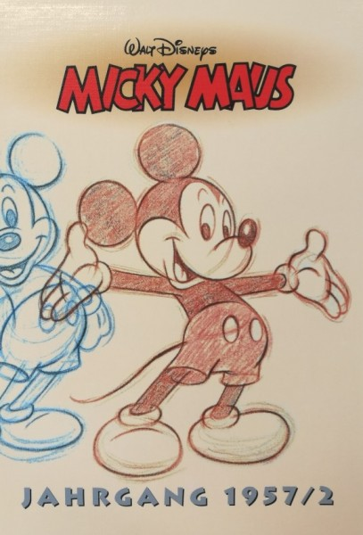 Micky Maus Reprintkassetten (Ehapa, Kassette) 1957/2