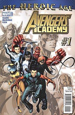 Avengers Academy 1-35