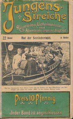 Jungens-Streiche (Moderne Literatur, Vorkrieg) Nr. 1-100