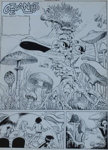 Originalzeichnung (0176) Oceanus 7 Seiten zus.