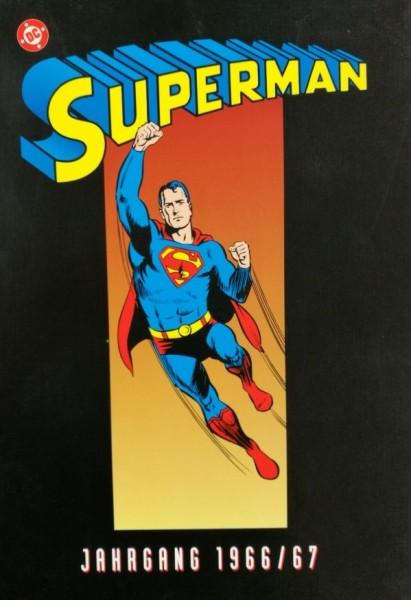 Superman Reprintkassetten (Ehapa, Kassette) Teil 1 (1966/67) + Teil 2 (1967) kpl. (Z1-)