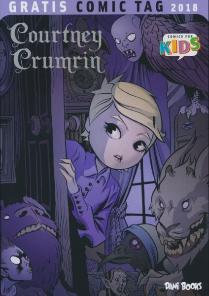 Gratis Comic Tag 2018: Courtney Crumrin