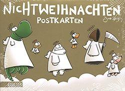 Nichtweihnachten Postkarten