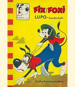 Fix und Foxi Sonderheft (Pabel, Gb.) Lupo