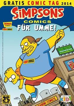 Gratis Comic Tag 2014: Die Simpsons für Umme