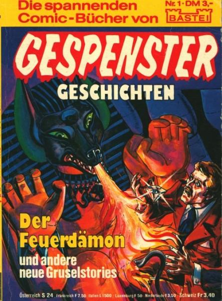 Gespenster Geschichten (Bastei, Tb.) Nr. 1-10