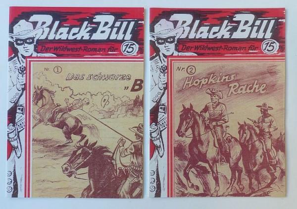 Black Bill (Romanheftreprints) Nr. 1-11 kpl. (neu)