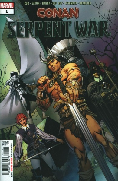 US: Conan Serpent War 1