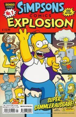 Simpson Comics Explosion 01