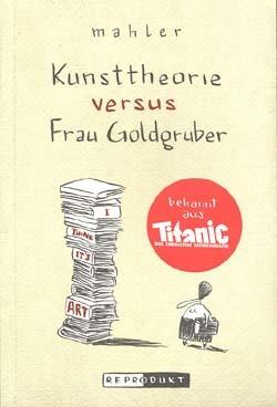 Kunsttheorie versus Frau Goldgruber (Reprodukt, Br.) (neu)