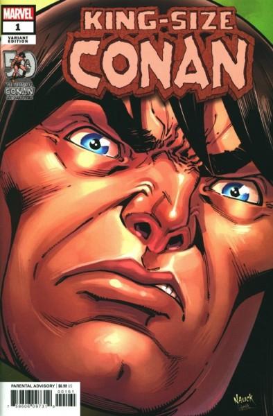 US: King-Size Conan 1 Nauck Headshot Var