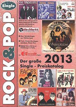 Rock & Pop Preis-Katalog Singles 2013