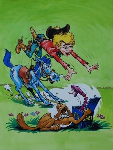 Originalzeichnung (0243) Tom Berry Maxi 6