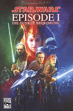 Star Wars Masters (Panini, Br.) Nr. 1,2,6 (neu)