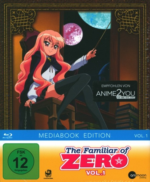 Familiar of Zero Vol. 1 Blu-ray Mediabook