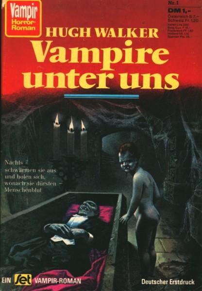 Vampir Horror Roman (Pabel) Nr. 1-5