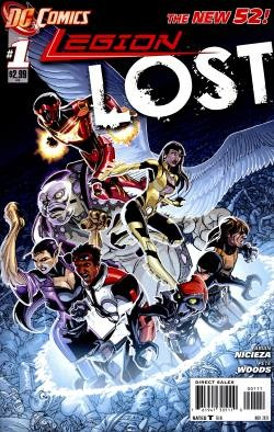 Legion Lost (2011) 1-5