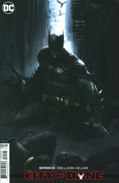 US: Batman (2016) 85 Card Stock Cover