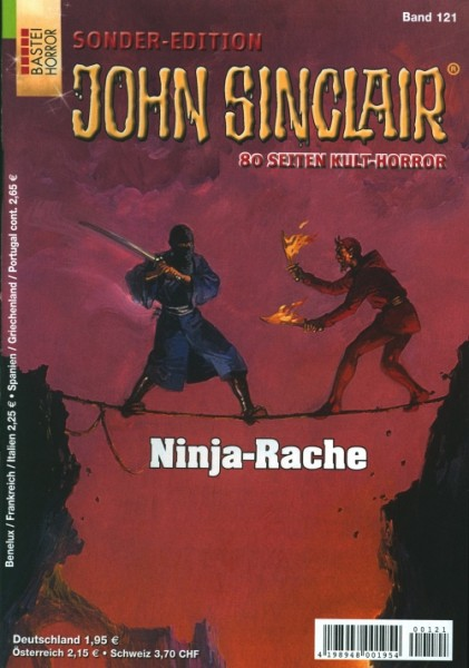 John Sinclair Sonder-Edition 121