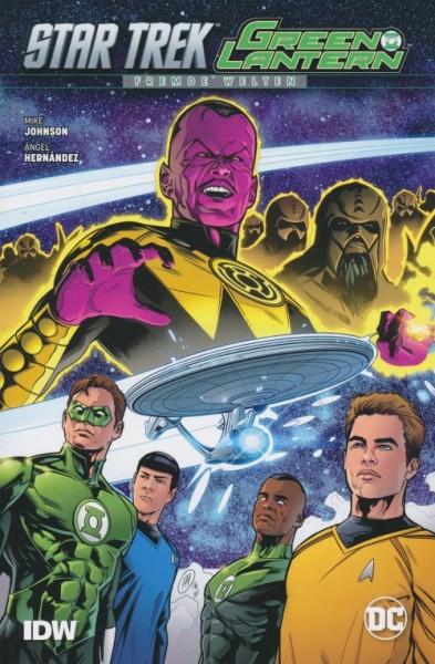 Star Trek / Green Lantern - Fremde Welten SC