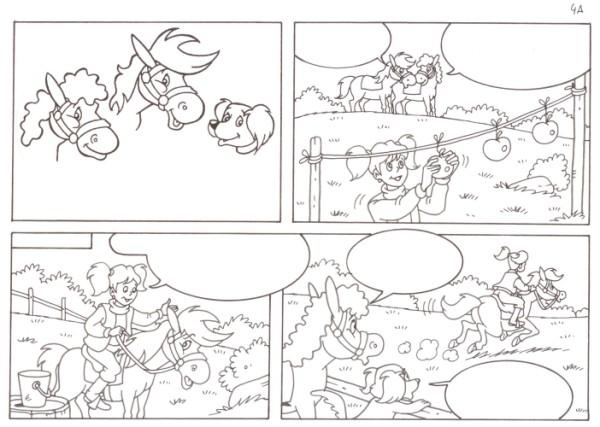 Originalzeichnung (0543) Rabauke und Rübe 2 Seiten zus.
