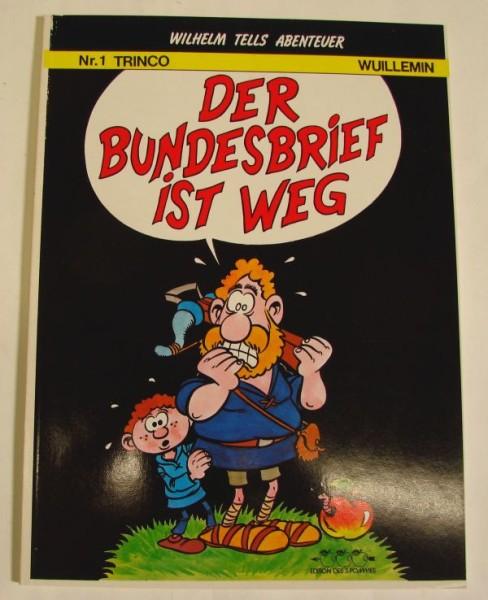 Abenteuer von Wilhelm Tell (Dargaud, Br.) Nr. 1-5 kpl. (Z1)