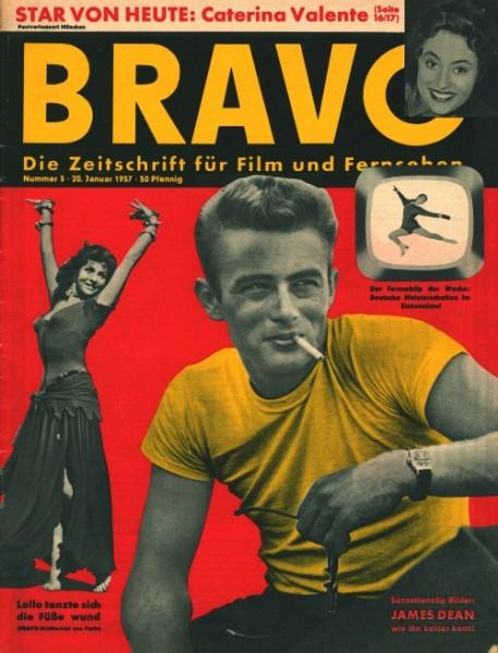 Bravo Jahrgang 1957 Nr. 1 - 22, 23/24, 24/25, 26 - 53