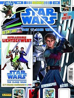Star Wars Clone Wars Magazin (Dino, GbÜ) Nr. 1-36 (neu)