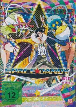 Space Dandy Vol.8 DVD
