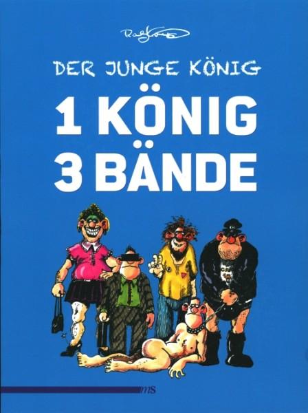 Ralf König: Der junge König: 1 König 3 Bände