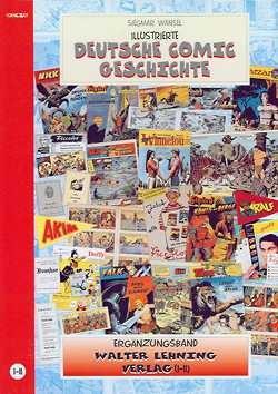 Illustrierte Deutsche Comicgeschichte 01-11 Ergänzungsband