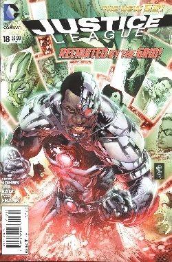 US: Justice League (2011) 18