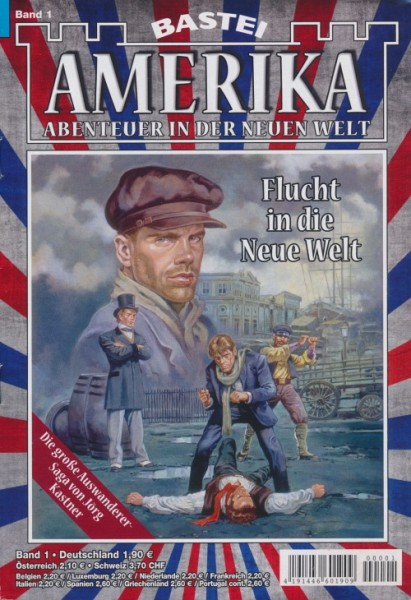 Amerika (Bastei, 2018) Neuausgabe Nr. 1-22 kpl. (Z1-2)