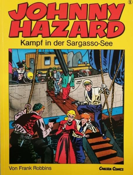 Johnny Hazard (Carlsen, Br.) Nr. 1-6
