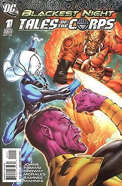 Blackest Night Tales of the Corps 1-3
