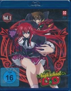 Highschool DxD Vol.1 Blu-ray