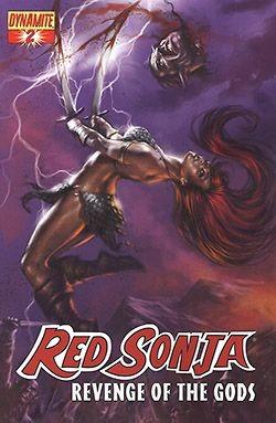 Red Sonja Revenge of the Gods 1-5