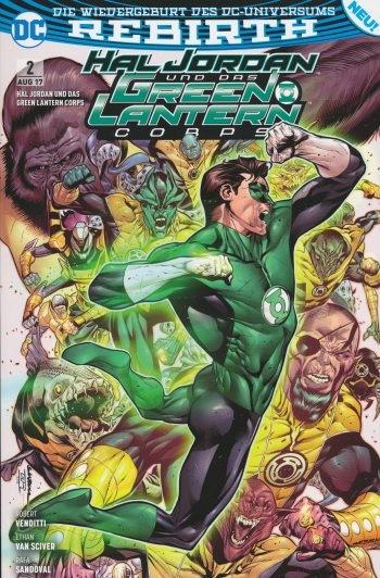 Hal Jordan und das Green Lantern Corps 2