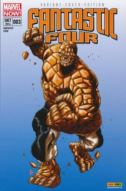 Fantastic Four (2013) 3 Exklusivcover Comicaction-Variant