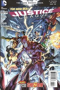 US: Justice League (2011) 11