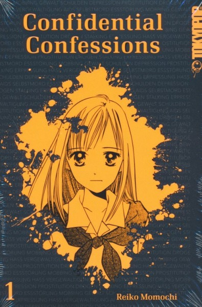 Confidential Confessions (Tokyopop, Tb) Sammelband Nr. 1-4 kpl. (Z1)