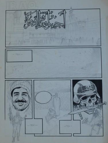 Originalzeichnung (0177) Iraq
