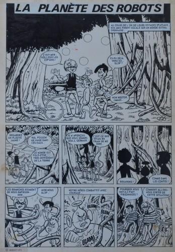 Originalzeichnung (0300) Kiko-2000 6 Seiten zus.