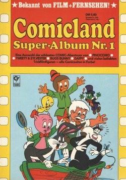 Comicland Super-Album Sammelband (Condor, Br.) Nr. 1-3