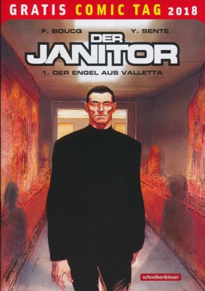 Gratis Comic Tag 2018: Der Janitor