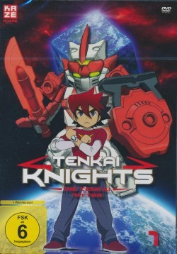 Tenkai Knights Vol. 1 DVD